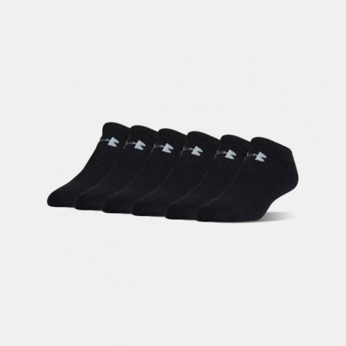 Accesorii - Under Armour Charged Cotton 2.0 No Show Socks-6-Pack | Fitness