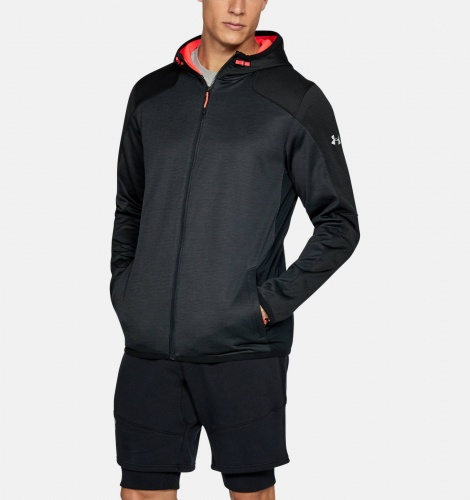 Imbracaminte - Under Armour ColdGear Reactor FZ Hoodie | fitness