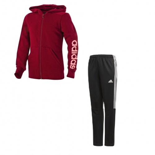Imbracaminte - Adidas Essential 3 Stripes Tracksuit | Fitness