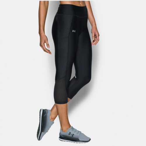 Imbracaminte - Under Armour Fly-By Printed Capri 7934 | Fitness