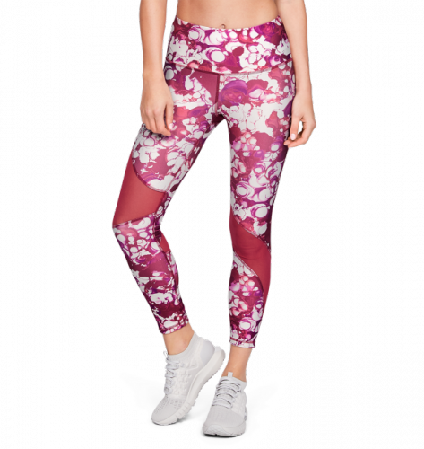Imbracaminte - Under Armour HeatGear Armour Ankle Crop Print Leggings 8993 | Fitness