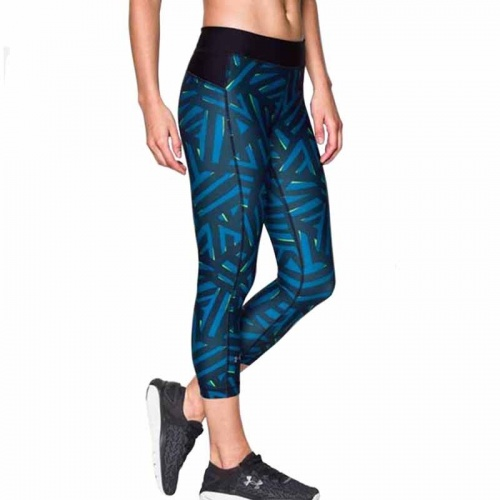 Imbracaminte - Under Armour HeatGear Armour Printed Capr | fitness