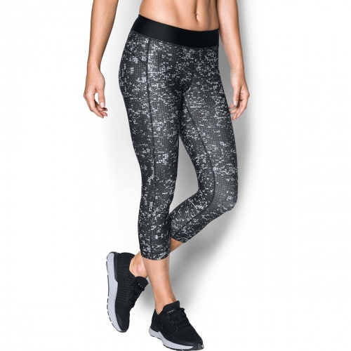 Imbracaminte - Under Armour HeatGear Armour Printed Capri 7906 | Fitness