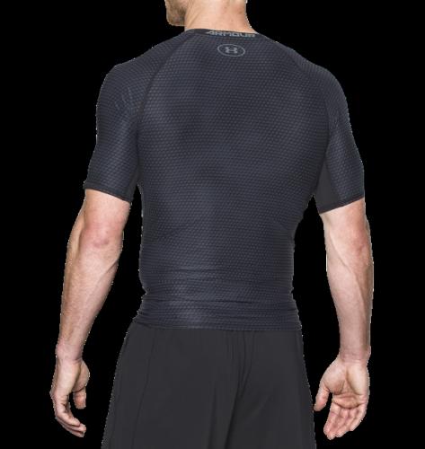 Imbracaminte -  under armour HeatGear Armour Printed Short Sleeve Compression Shirt 7477