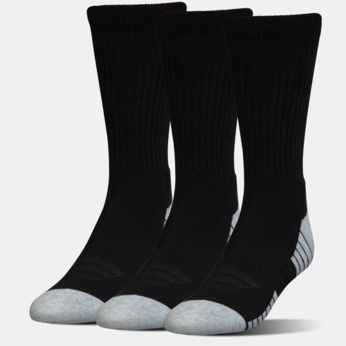 Accesorii - Under Armour HeatGear Tech Crew Socks 3-Pack 2341 | Fitness