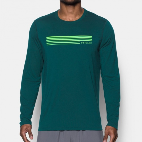 Imbracaminte - Under Armour Run Graphic Long Sleeve T-Shirt 9042 | Fitness