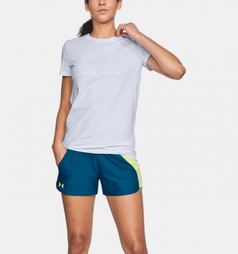 Imbracaminte - Under Armour Sportstyle Mesh Logo T-Shirt 0488 | Fitness