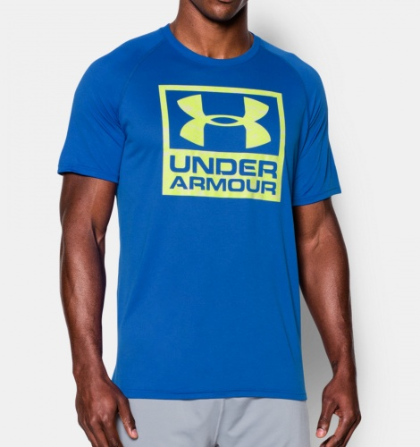 Imbracaminte - Under Armour Tech Boxed Logo T-Shirt | fitness