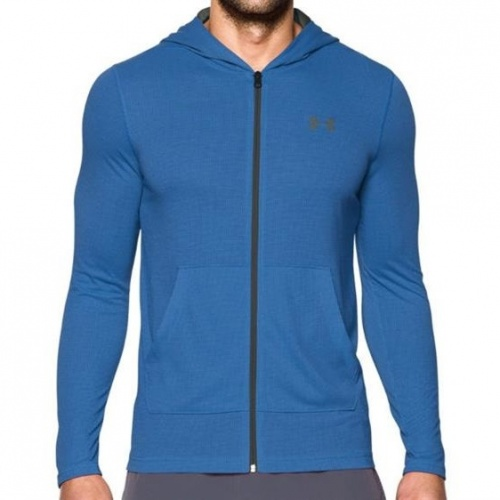 Imbracaminte - Under Armour Threadborne Fitted Full Zip Hoodie 0301 | Fitness