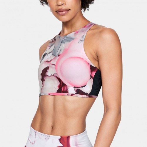 Imbracaminte - Under Armour UA Breathelux Carved Rib Print Bra 1925 | Fitness