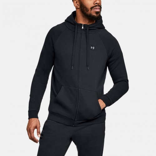 Imbracaminte - Under Armour UA Rival Fleece Full-Zip Hoodie 0737 | Fitness