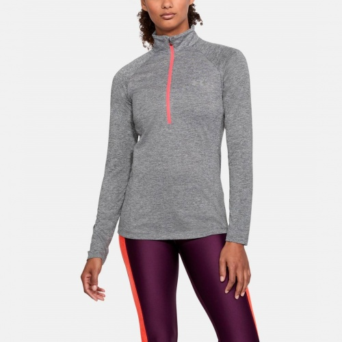 Imbracaminte - Under Armour UA Tech Twist 1/2 Zip Long Sleeve Shirt 0128 | Fitness