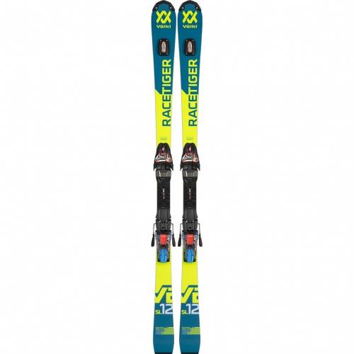 Ski - Volkl Racetiger SL R + XCell 12 | Ski
