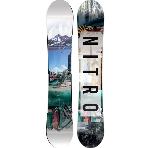Placi Snowboard - Nitro Team Exposure Gullwing | snowboard